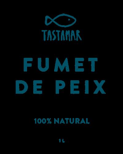Tastamar - Etiqueta - Fumet de peix