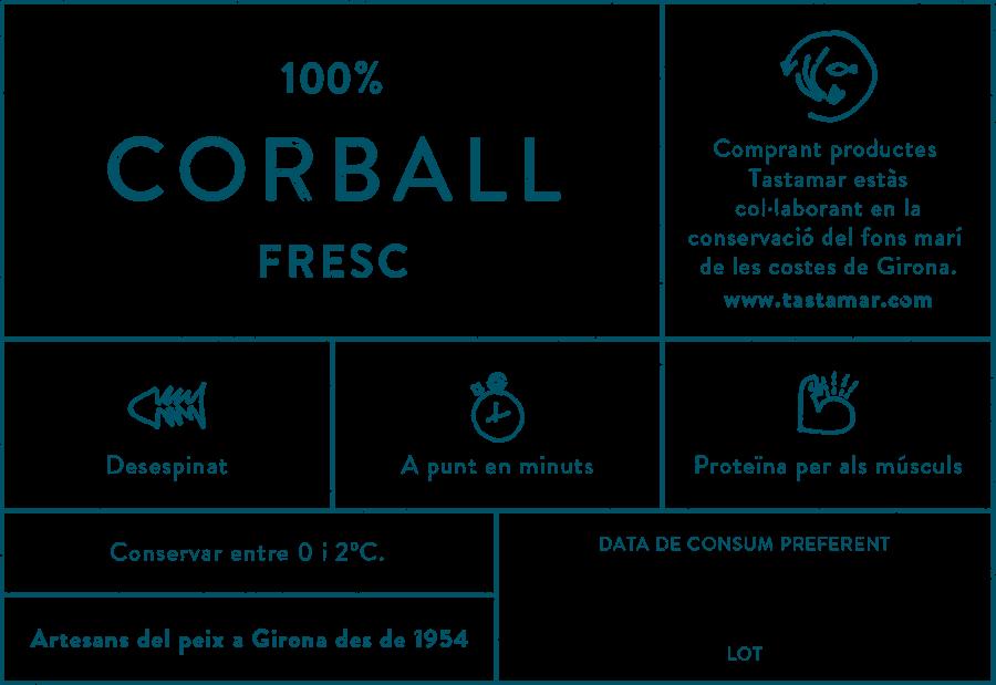 Tastamar - Etiqueta - Corball