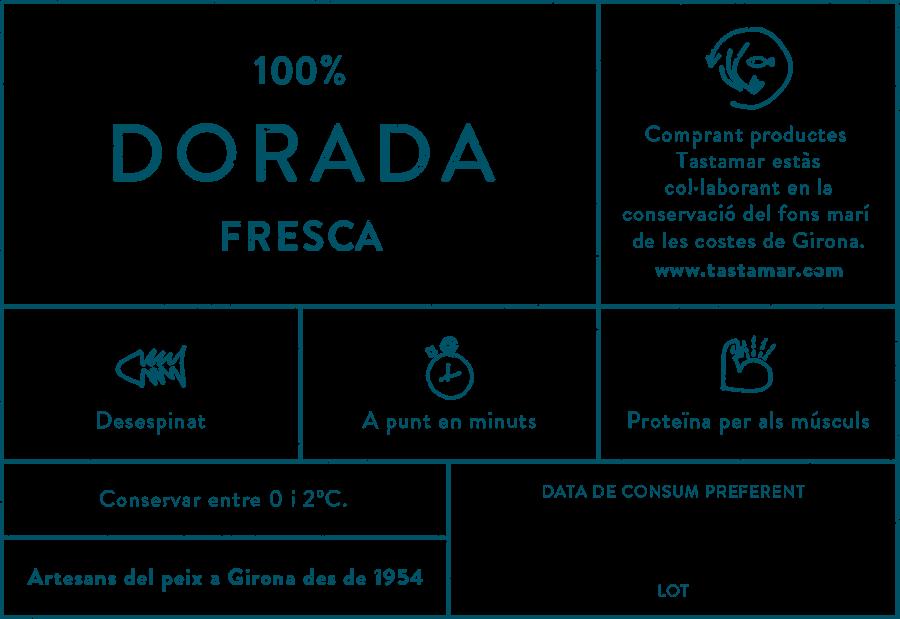 Tastamar - Etiqueta - Dorada