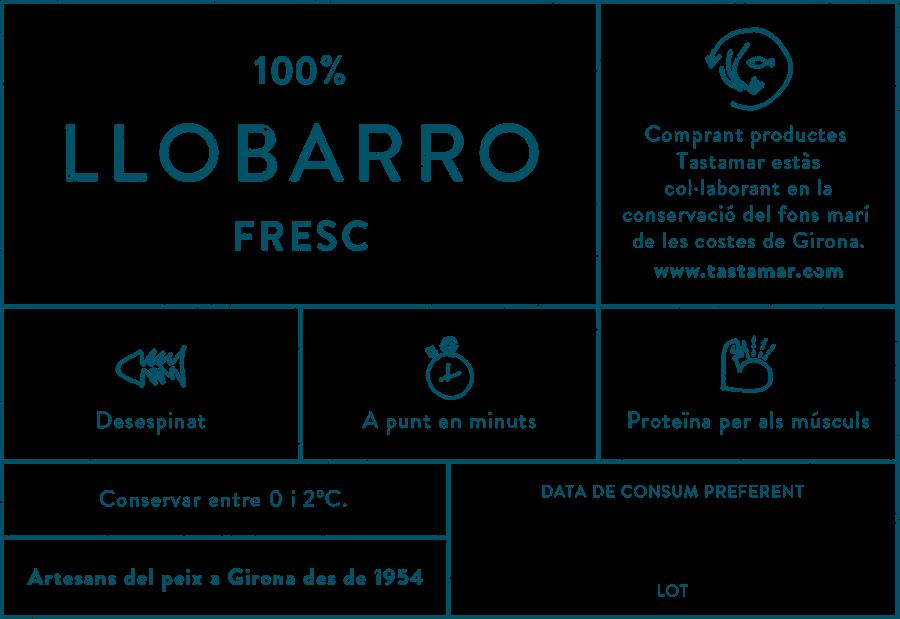 Tastamar - Etiqueta - Llobarro