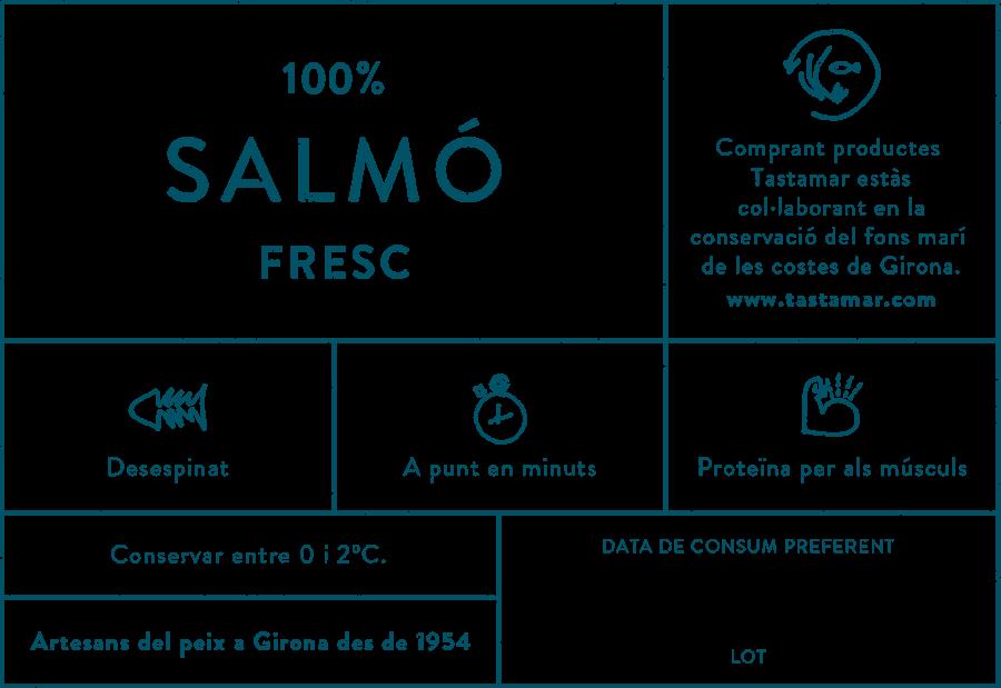 Tastamar - Etiqueta - Salmó